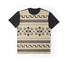 Big Lebowski Cardigan Texture Graphic T-Shirt