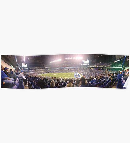 Colts-Patriots 2015 Poster