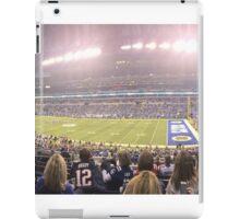 Colts-Patriots 2015 iPad Case/Skin