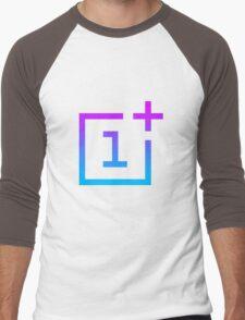 OnePlus Logo - Retro Style Men's Baseball ¾ T-Shirt