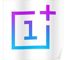 OnePlus Logo - Retro Style Poster