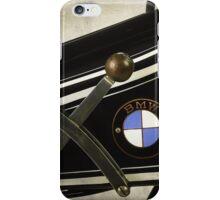 BMW Vintage Motorcycle iPhone Case/Skin