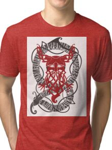 Red Konung Tri-blend T-Shirt