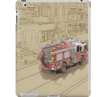 NYC Fire Engine iPad Case/Skin