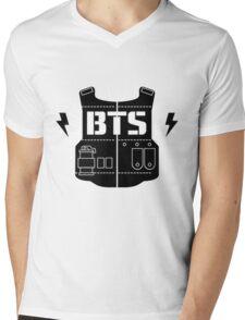 BTS Mens V-Neck T-Shirt