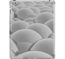 grey 3D Spheres crossover iPad Case/Skin