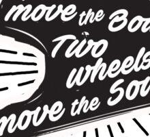 Bikers Quote Sticker