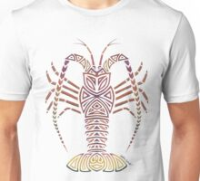 Tribal Caribbean Lobster Unisex T-Shirt