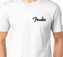 Fender logo sketch Unisex T-Shirt
