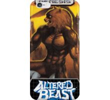 Altered Beast repro poster iPhone Case/Skin