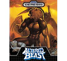 Altered Beast repro poster Photographic Print