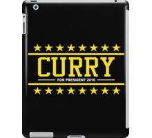 Steph Curry - For President (Parody) iPad Case/Skin