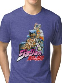 Jojo's Bizarre Adventure Tri-blend T-Shirt