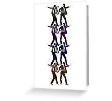 A Jarvis Cocker Stack Greeting Card
