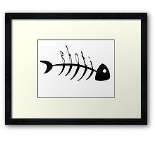 Shavian Alphabet Fish Framed Print