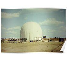 1966 RAF Radar Radome Poster