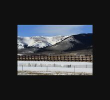 Behind The Snow Fence Unisex T-Shirt
