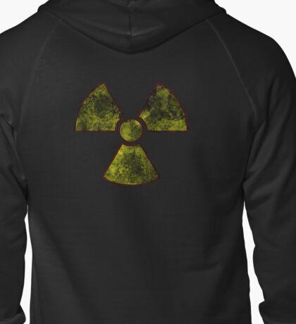 Radioactive Fallout Zipped Hoodie