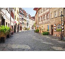 Nuremberg old town Photographic Print