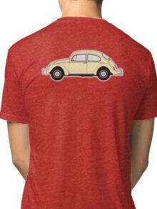 VW, Volkswagen, Beetle, Bug, Motor, Car, Cream Tri-blend T-Shirt