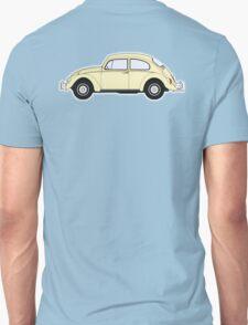VW, Volkswagen, Beetle, Bug, Motor, Car, Cream Unisex T-Shirt