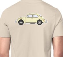 VW, Volkswagen, Beetle, Bug, Motor, Car, Cream Unisex T-Shirt