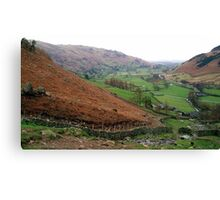 Langdale, the Lake District, UK Canvas Print