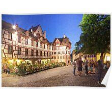 Nuremberg evening Poster