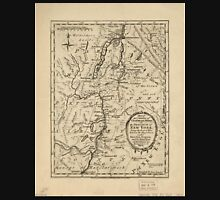 American Revolutionary War Era Maps 1750-1786 643 Part of the counties of Charlotte and Albany in the Province of New York being the seat of war between the Unisex T-Shirt