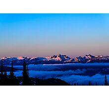 Begbie sunrise  Photographic Print