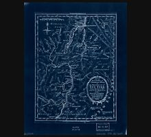 American Revolutionary War Era Maps 1750-1786 644 Part of the counties of Charlotte and Albany in the Province of New York  being the seat of war between the Inverted Unisex T-Shirt