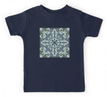 Mosaic flowers pattern Kids Tee