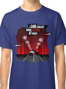 A Girl Walks Home Alone At Night Classic T-Shirt