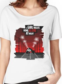 A Girl Walks Home Alone At Night Women's Relaxed Fit T-Shirt