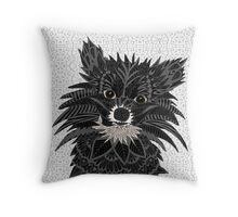Pomeranian Puppy 2016 Throw Pillow