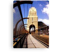 Bridge Stonework Canvas Print