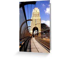 Bridge Stonework Greeting Card