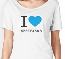 I ♥ SESTRIERE Women's Relaxed Fit T-Shirt