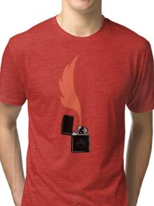 Forest Fire Tri-blend T-Shirt