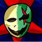 two side of the mask  by StuartBoyd