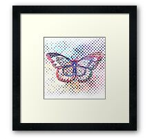 Fly like a butterfly Framed Print