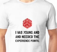 Experience Points Unisex T-Shirt
