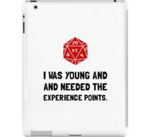 Experience Points iPad Case/Skin