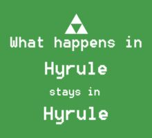What happens in Hyrule... Baby Tee