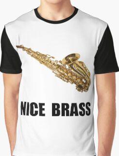 Nice Brass Saxophone Graphic T-Shirt