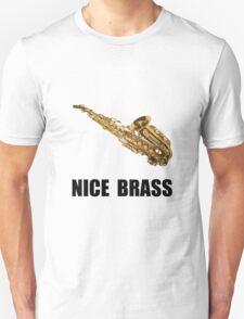 Nice Brass Saxophone Unisex T-Shirt
