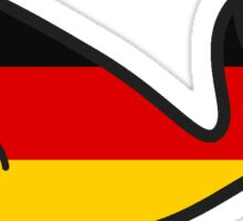 Germany Whale Sticker
