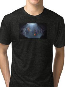 Monkey 2 - Hangin About Tri-blend T-Shirt