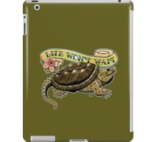 Life Won't Wait Snapping Turtle iPad Case/Skin