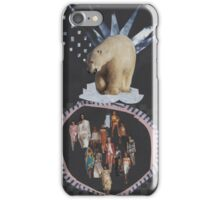 Bear and models iPhone Case/Skin
